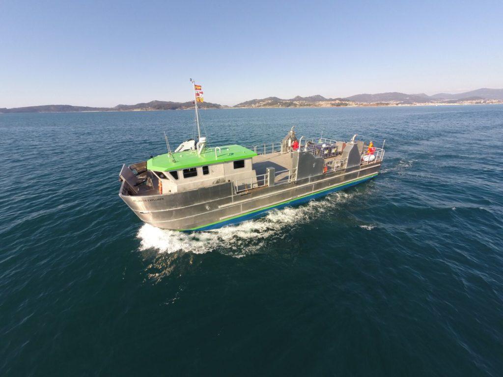 Barco de pesca de aluminio BIOATLANTIS EXPLORER