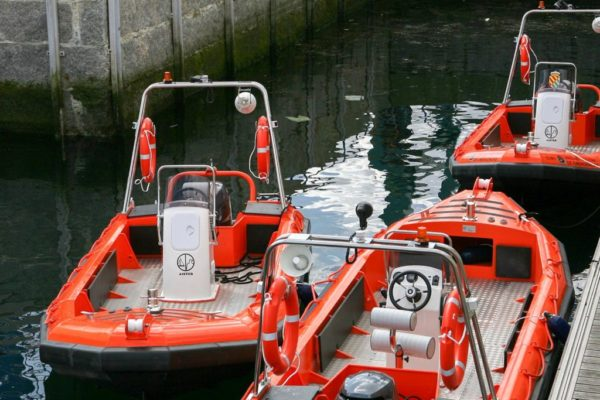 aluminium boat for search and rescue