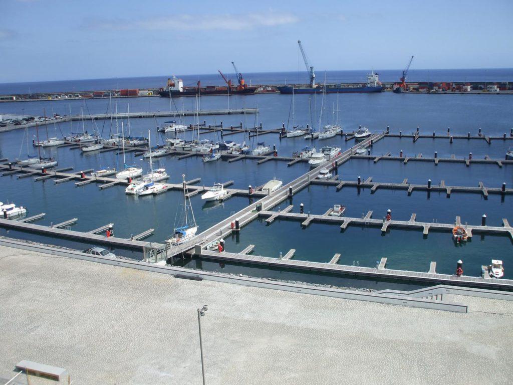 Pantalan aluminio para marinas y puertos deportivos