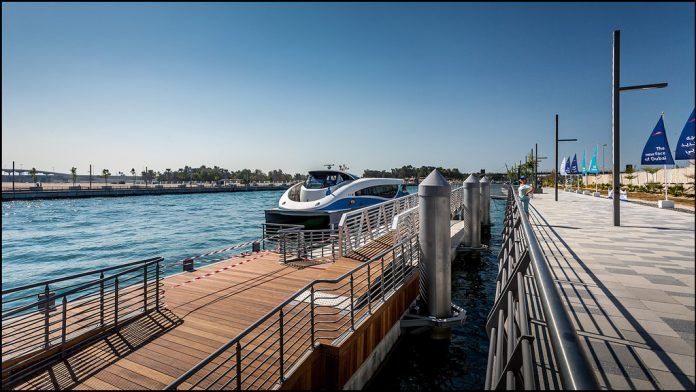 Floating pontoon for Water Taxis