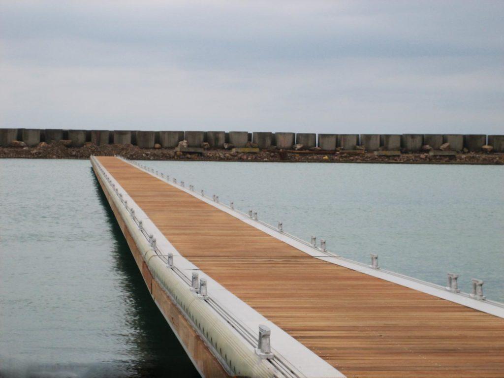 Fixed dock Juan Montiel Marina