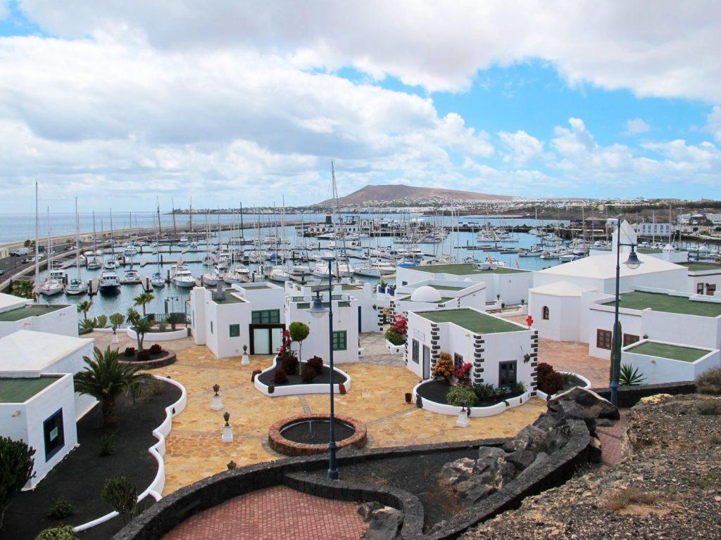 Marina Rubicón en Lanzarote