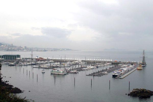 Vista satélite Punta Lagoa