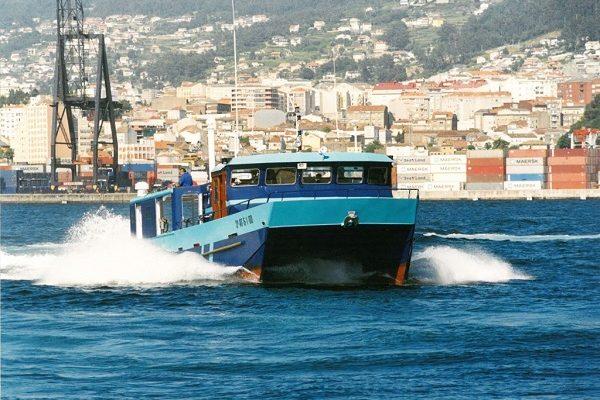 Aluminium catamaran
