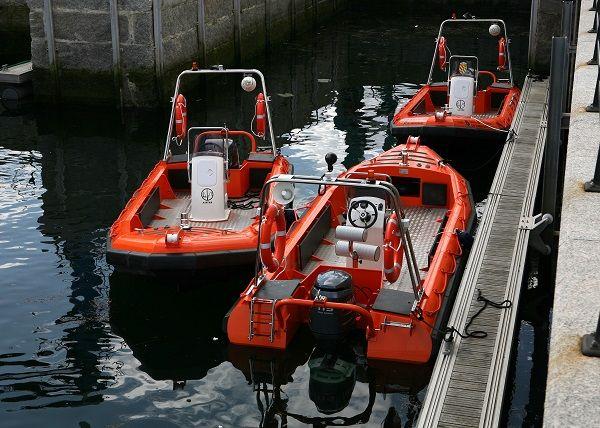 Aluminium SAR boat