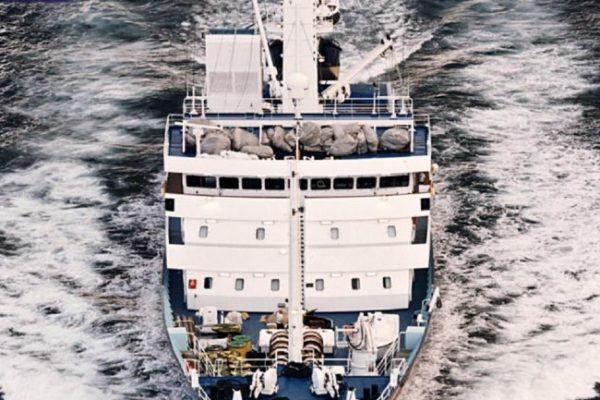 Aluminium shipbuilding in VIA LIBECCIO