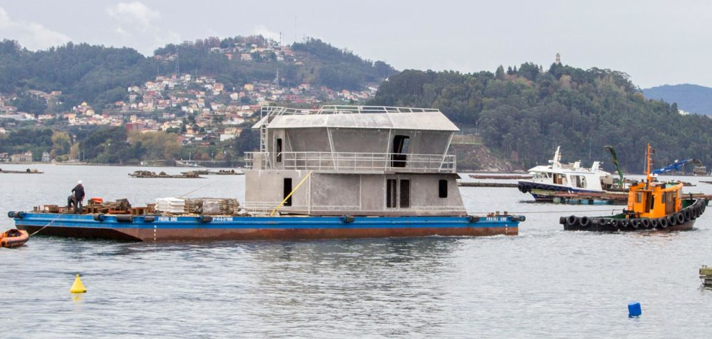 Aluminium superstructures in all types of vessels