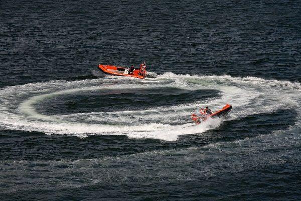 Barco de salvamento de aluminio