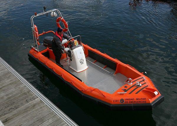 Barco de salvamento fueraborda