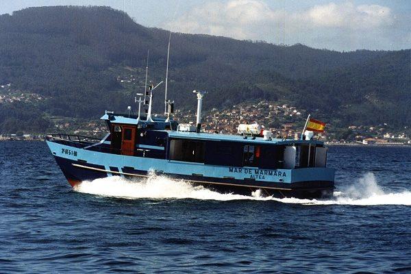 Catamarán de aluminio MAR DE MARMARA