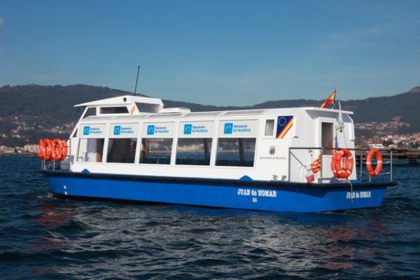 Catamaran electrico de pasajeros