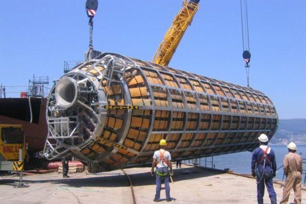 Construcción naval: Lanzadera de extracción fuel PRESTIGE