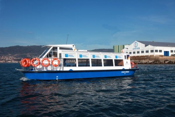 Electric sightseeing boat JUAN DE HOMAR