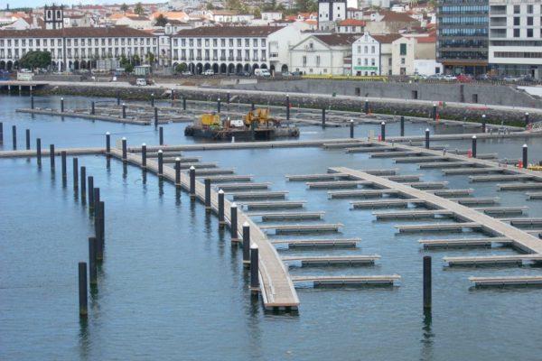 Marina Punta Delgada en construcción