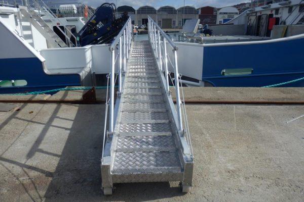 Planchada de aluminio