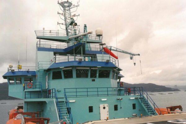 Superestructura de aluminio en el buque offshore ARBOL GRANDE