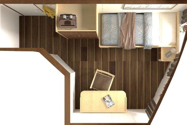 Diseño de interiores: camarotes