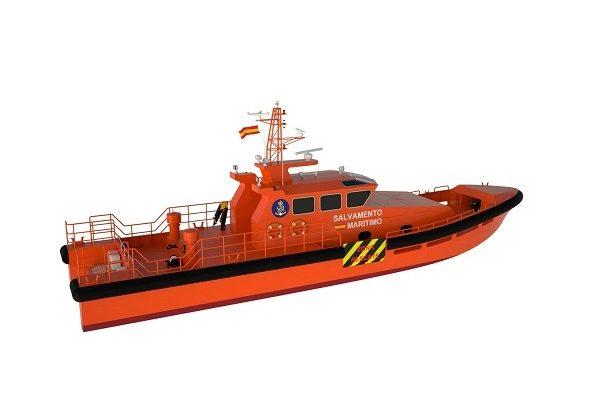 Barco de salvamento y rescate
