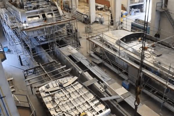Aluminium superstructure
