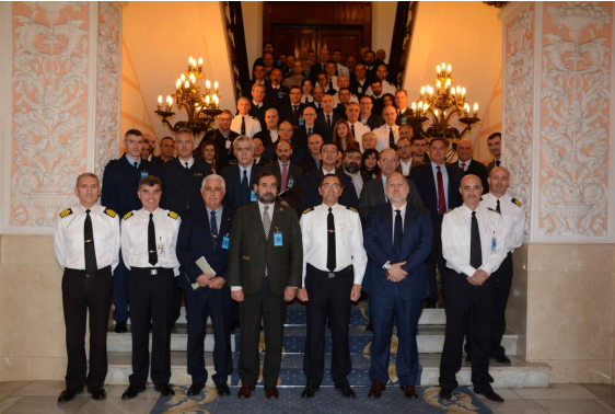 Asistentes a la reunión final de Marsec 2018