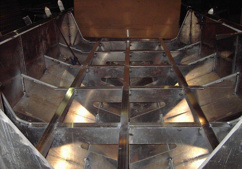 Los barcos profesionales de aluminio destacan por sus bajos costes de mantenimiento