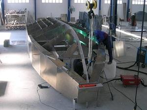 Barcos de aluminio profesionales