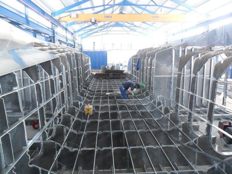 Catamarán de aluminio