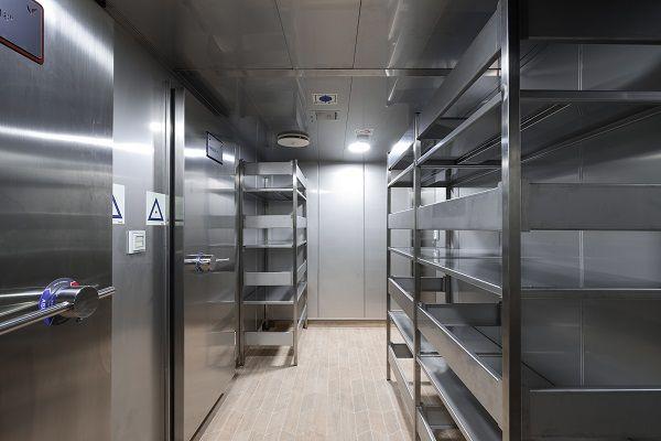 Instalación de gambuzas frigoríficas
