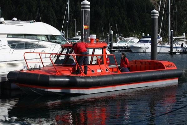 Aluminium workboat ROSEGA