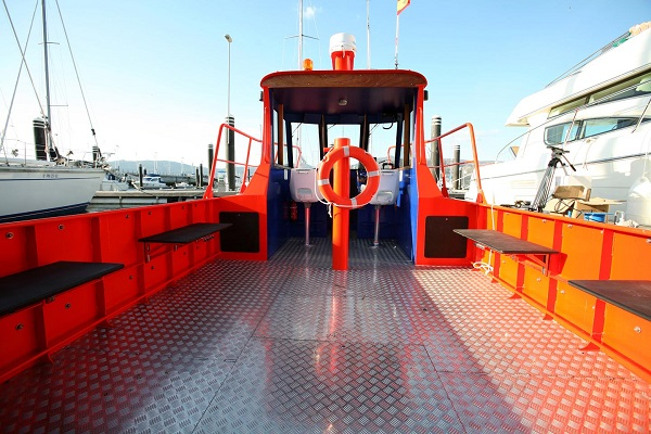 Aluminium workboats for work ports