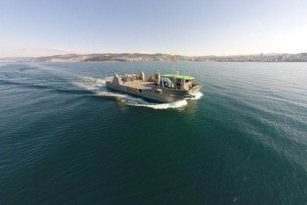 Aquaculture aluminium catamaran