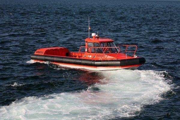 Barco de trabajo de aluminio de gasolina