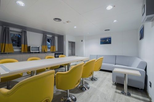 Marine Interior And Outfitting In The Trawler Argos Cies