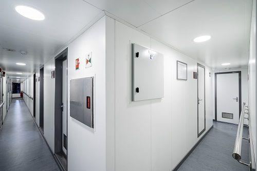 Marine interiors bulkheads