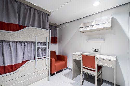 Marine interiors cabin