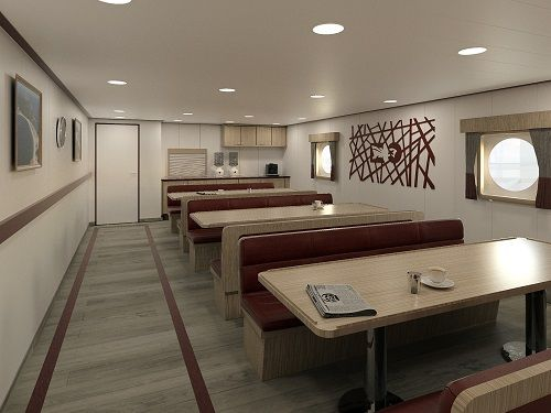 Marine Interiors Design in Trawlers