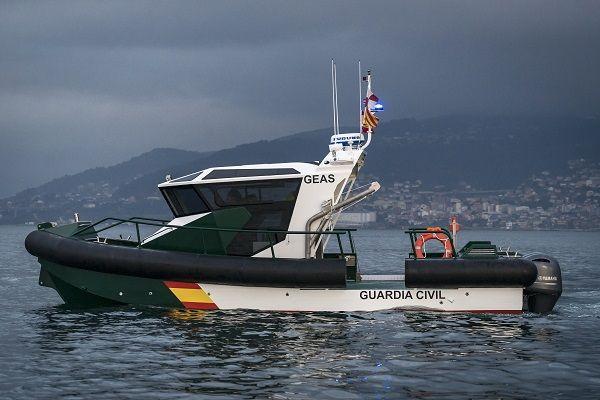 Aluminium patrol boat