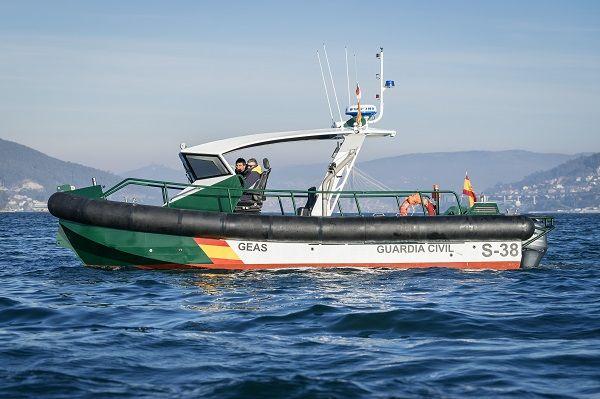 Barco de aluminio para operaciones de abordaje
