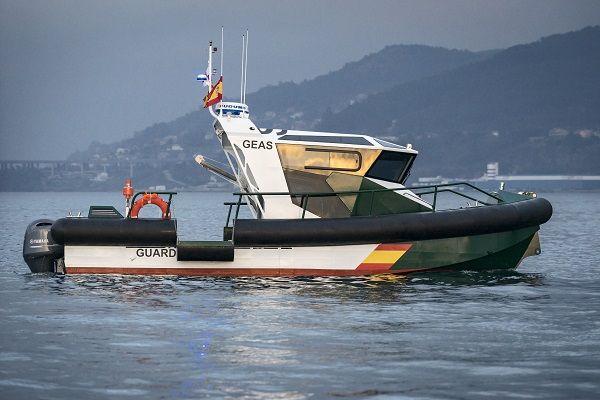 Barco de vigilancia de aluminio