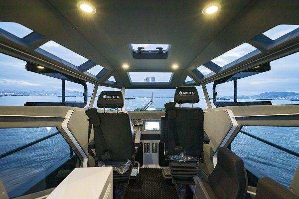 Barco de vigilancia fueraborda