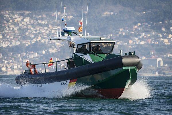 Patrol boat AISTER