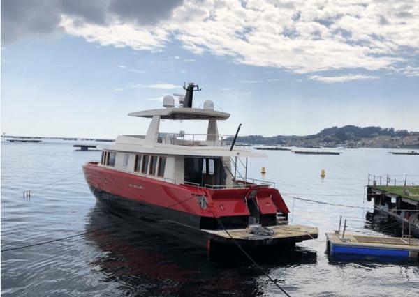 Aluminium Yacht Atlantis Xcape 76