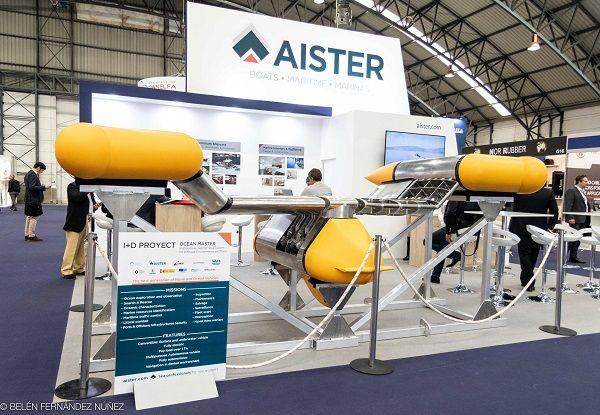 Ocean Master vehículo marino no tripulado