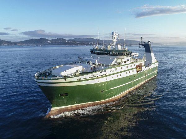 En AISTER hemos construido la superestructura de aluminio del buque MARKUS