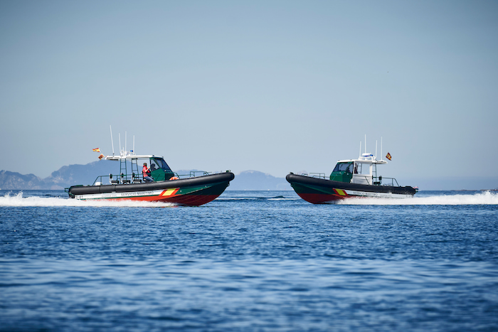 Coats guard patrol boat
