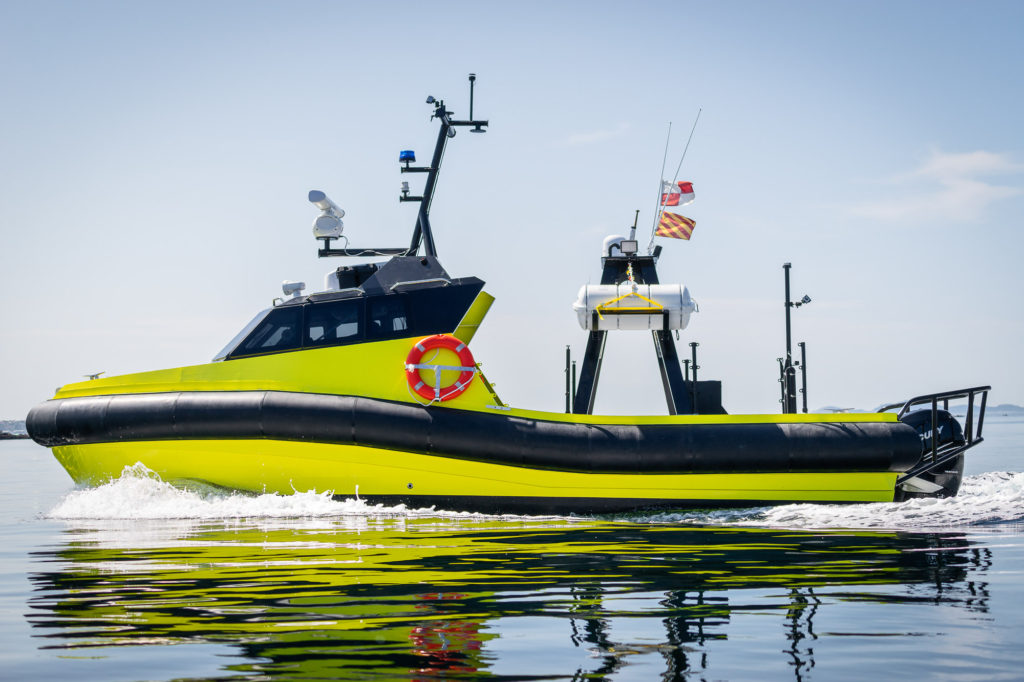 Aluminium USV / Unmanned Surface Vehicle