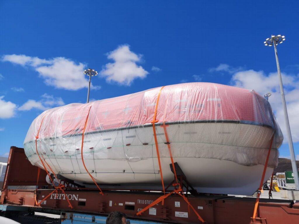 JY-BF-9.6 botes salvavidas originales